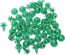 Sharplace 50 Stücke Kunststoff Türverkleidung