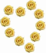 Sharplace 50x Künstliche Blume Seidenrosen Rosen