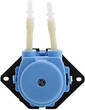 Sharplace 6V Peristaltische Flüssige Mini Dosierschlauchpumpe für Aquarium Labor - Blau