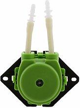 Sharplace 6V Peristaltische Flüssige Mini Dosierschlauchpumpe für Aquarium Labor - Grün