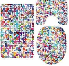 Sharplace Badematten Polyester, Badematten Set