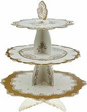 Sharplace Cupcake Muffin Törtchen Ständer 3