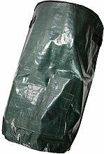 Sharplace Gartensack aus Kunststoff 45 x 80cm