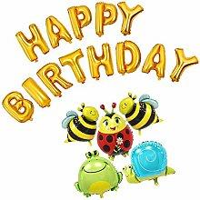 Sharplace Geburtstag Tier Folienballon Luftballon