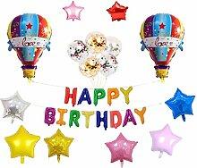 Sharplace Kindergeburtstag Deko Geburtstag