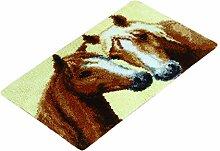 Sharplace Knüpfset Teppich Erwachsene,