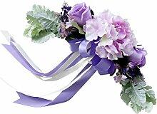 Sharplace Künstlich Blumenstrauß Brautstrauß