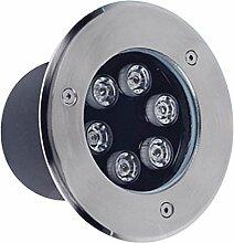 Sharplace LED Bodeneinbaustrahler Einbaustrahler