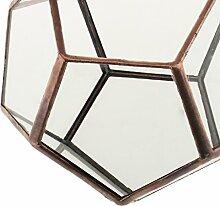 Sharplace Miniatur-Gartenhaus Pflanzer Mini Glas