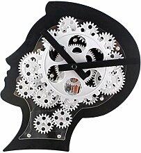 Sharplace Moderne Gehirn Design Quarzuhr Gear