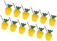Sharplace Party Becher aus PVC für Hawaii Strand Sommer Party Set/12Stück