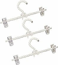 Sharplace Perlen Hosenspanner Kleiderbügel