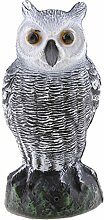 Sharplace Riesen Kunststoff Figur Vogel Garten