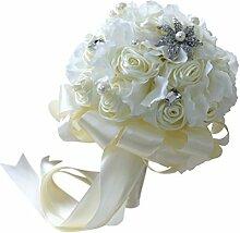Sharplace Rosenstrauß Brautstrauß Romantische