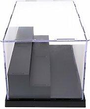Sharplace Tisch Vitrine Acryl Schaukasten