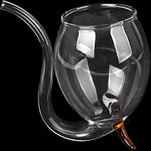Sharplace Vampire Weinglas Borosilikatglas
