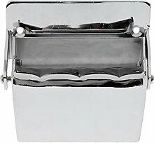 Sharplace Wandaschenbecher aus Edelstahl (Silber)
