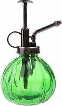 Sharplace Zerstäuber Gießkanne/Wasserkanne/Blumengießer Bewässerung aus Glas - Grün, 250ml