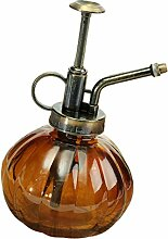 Sharplace Zerstäuber Gießkanne/Wasserkanne/Blumengießer Bewässerung aus Glas - Braun, 250ml