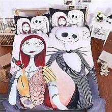 SHASHA 3D-Bettwäsche-Set Baumwolle Weihnachten