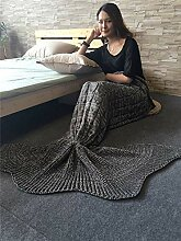 SHASHA Meerjungfrau Decke Mermaid Tail Blanket