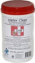 SHB Swiss Water Clear Filtergranulat 1000 ml Nachfüllgranulat für Wasserfilter In-Ta-Fil , Laurastar, Claris, Granulat auch für Luftbefeuchter / Ultraschallvernebler