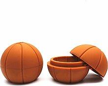 ShedEU Silikon-Eisform, Basketball, rund,
