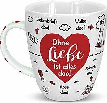 Sheepworld 46506 Liebe ist Alles doof, Herz,