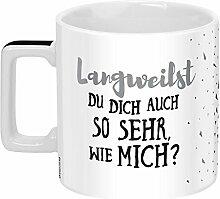 Sheepworld 46532 Wortheld Langeweile, Spruch,