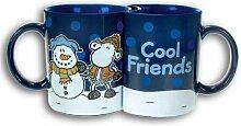 Sheepworld 49221 Doppeltasse in GB Cool Friends