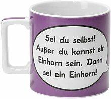 Sheepworld Wortheld Tasse 43283 , Einhorn-Design,