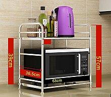 shelf Edelstahl-Multifunktions-Küchenregal,