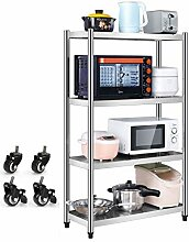 Shelf LYG Edelstahl-Küchenregal, mit