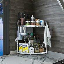 Shelf LYG Küchenwagen Eckregal Regal Edelstahl