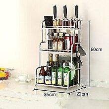 Shelf LYG Küchenwagen Gewürzregal für