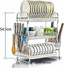 Shelf LYG Küchenwagen Küchenhalter aus Edelstahl