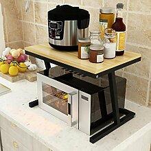 Shelf LYG Küchenwagen Mikrowellengestell,