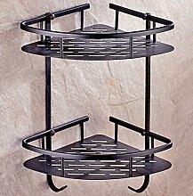 Shelf Multifunktions-Regal Alle Copper Badezimmer Badezimmer Regal Wandhalterung Badezimmer Zubehör ( größe : B )