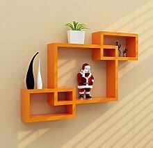 Shelf Wall Dekoration Tripartite Separator