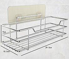 Shelf-Wand-Regal-Regal-Wand-Unterlegscheibe-Speicher-Loch-Stanzen-Haube Washing Rack ( größe : B )