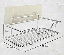 Shelf-Wand-Regal-Regal-Wand-Unterlegscheibe-Speicher-Loch-Stanzen-Haube Washing Rack ( größe : A )