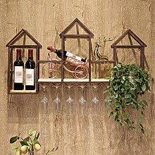 Shelf Weinregal, Wand-Weinregal aus europäischem