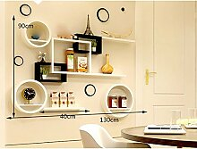 Shelf ZI LING Shop- Wand Racks Wand kreative