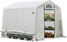 ShelterLogic Foliengewächshaus 5,76 m² 240 cm x