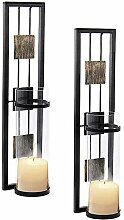 Shelving Solution Wandleuchter Kerzenhalter Metall