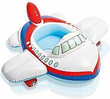 shemrow Baby Swim Float, aufblasbares Schwimmbecken Baby Float Sitz Boot Strand Auto Sonnenschutz Wasser