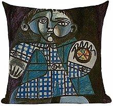 shengbuzailai Berühmte Gemälde Kissen