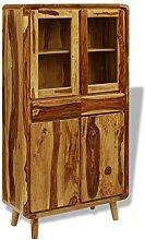 SHENGFENG Sideboard Holz Küchenschrank