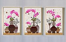 SHENGNZ Ölgemälde Phalaenopsis Neue chinesische