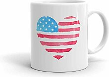 shenguang Funny Humor Novelty Heart USA American